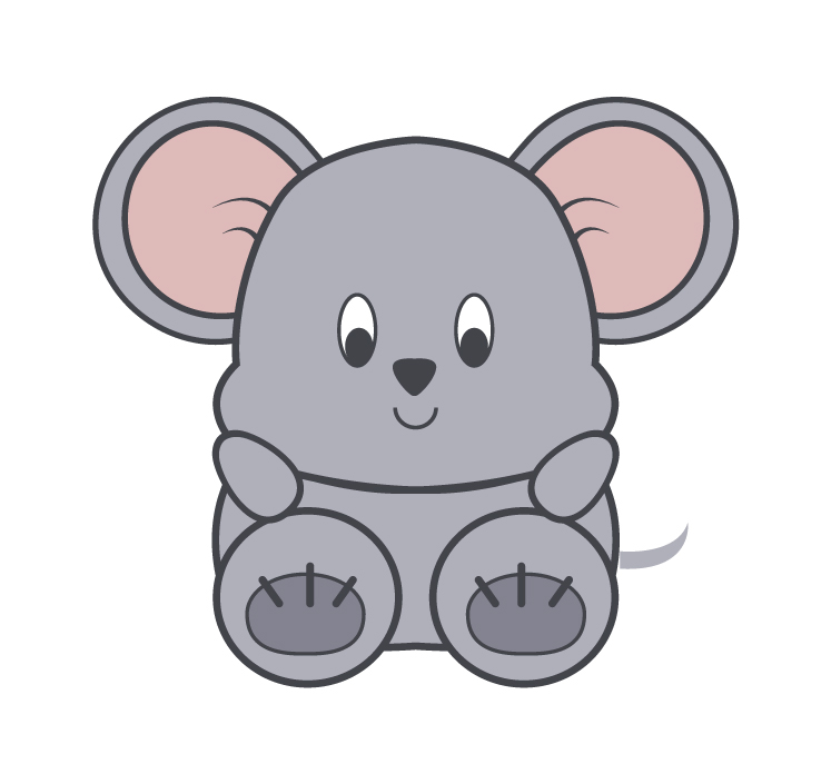 Little Buddy Mouse - Mouse lives in a mouse hole in Herbie's House. Mouse loves to eat fruit and nuts!