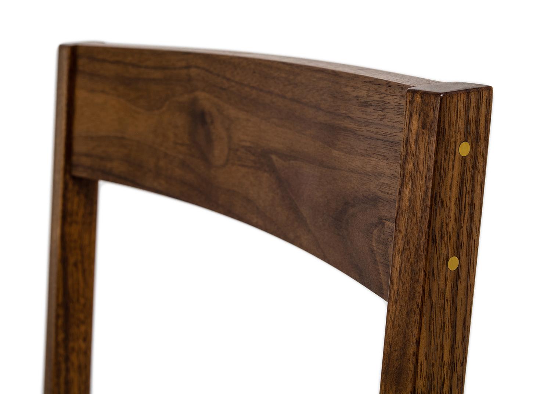 brass detail in Matteawan chair