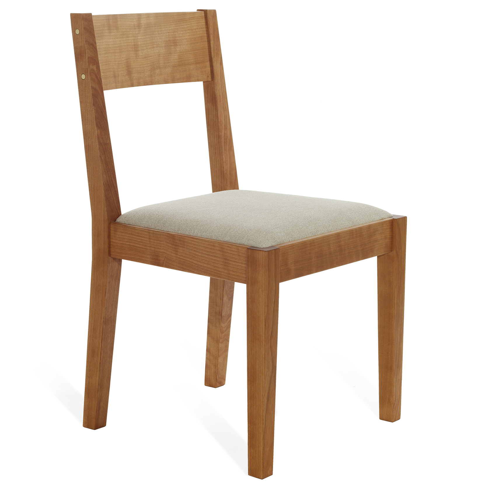 Jetmore dining chair in cherry and fabric