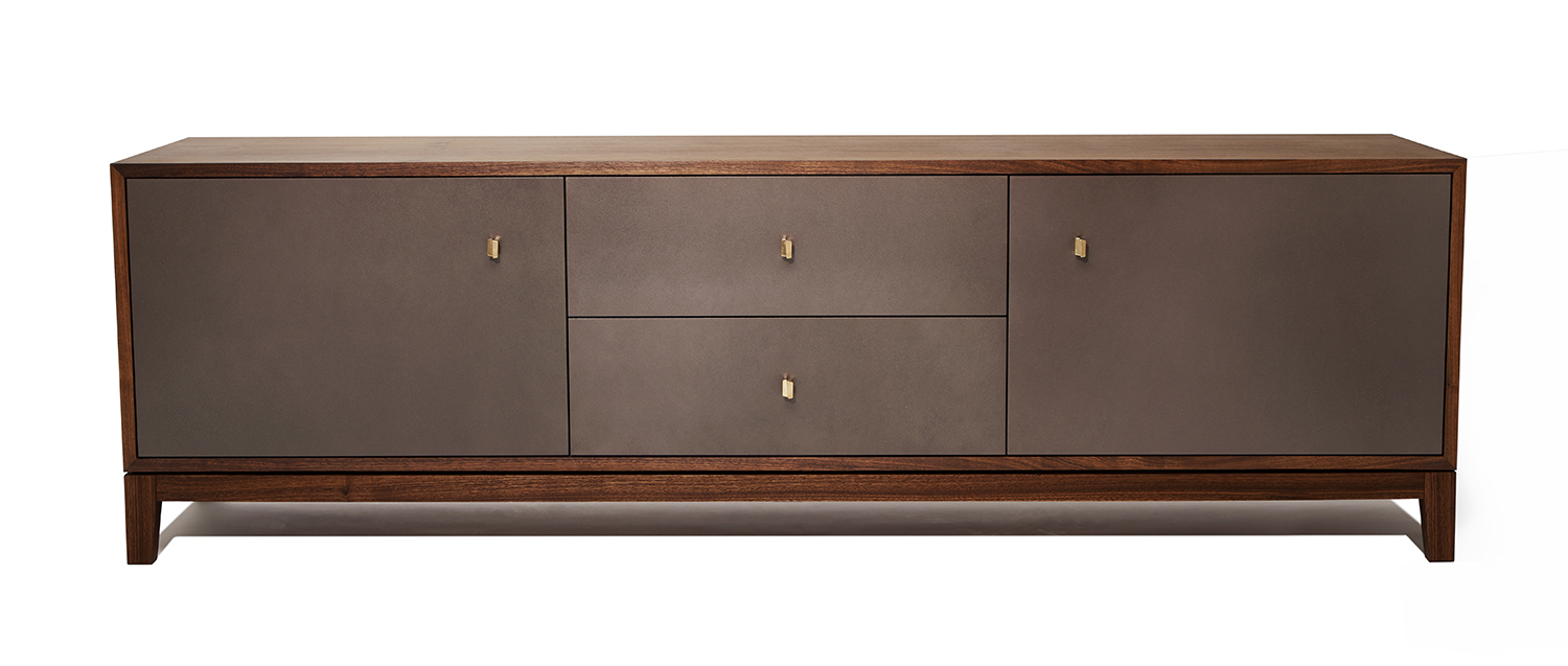 Detail of the Empire credenza