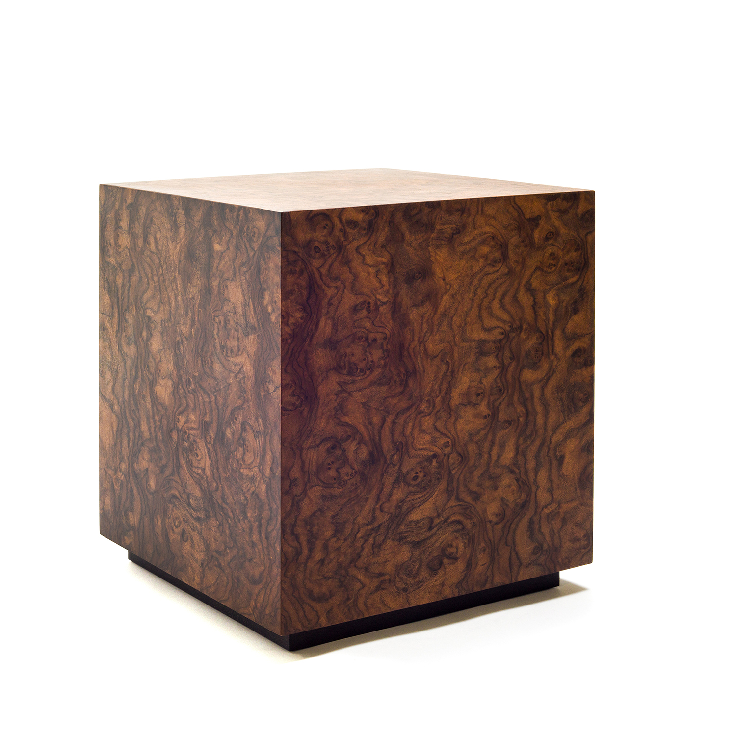 Milo Baughman inspired end table