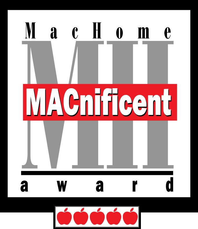 MacHome Macnificent Award.png