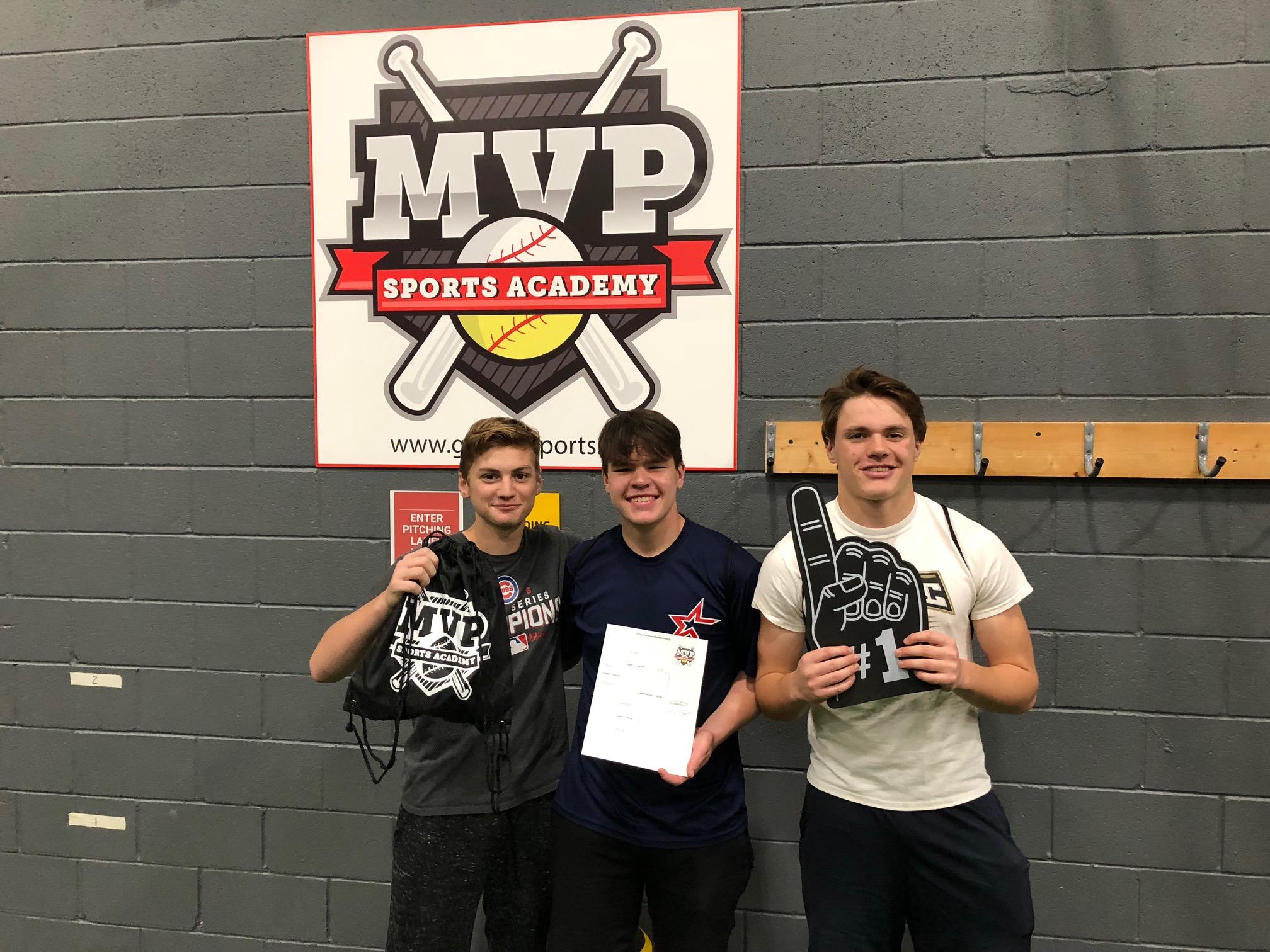 Fall League 2018 HitTrax Winners - Pro Division (High School)