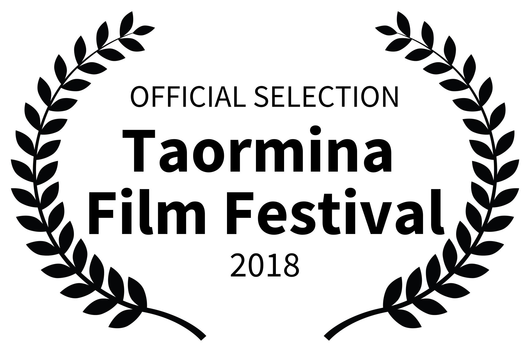 OFFICIAL SELECTION - Taormina  Film Festival - 2018.jpg