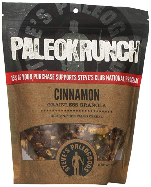 Steve's PaleoGoods Granola - My favorite grainless granola. Just the right amount of crunch and sweet with Paleo approved ingredients.