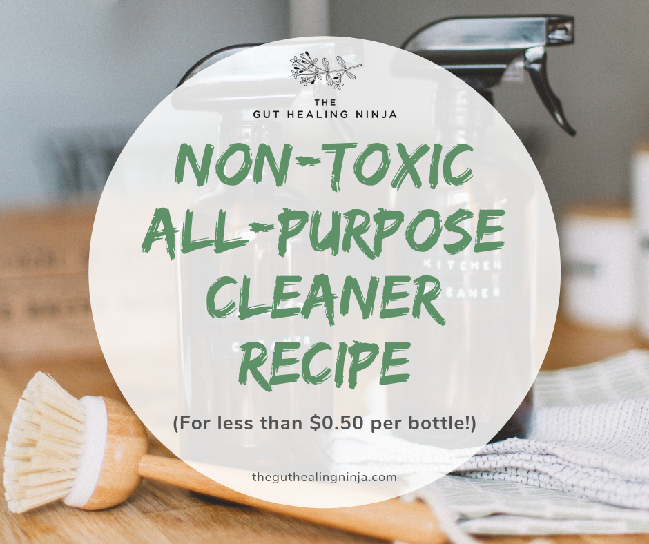 My Non-Toxic Home Cleaning Hack | The Gut Healing Ninja