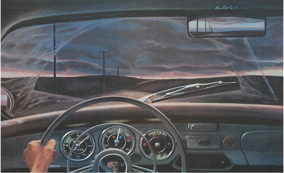 Original print by Eric Green from 1976.
