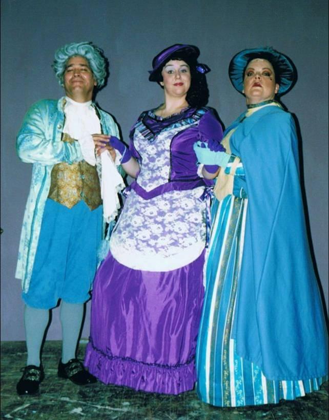 The  Plaza-toros - Darryl Davis (Duke), Lucy, Tammy West (Duchess)