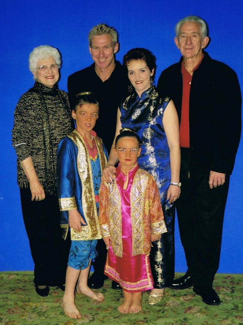 Director Ted Williams & Family