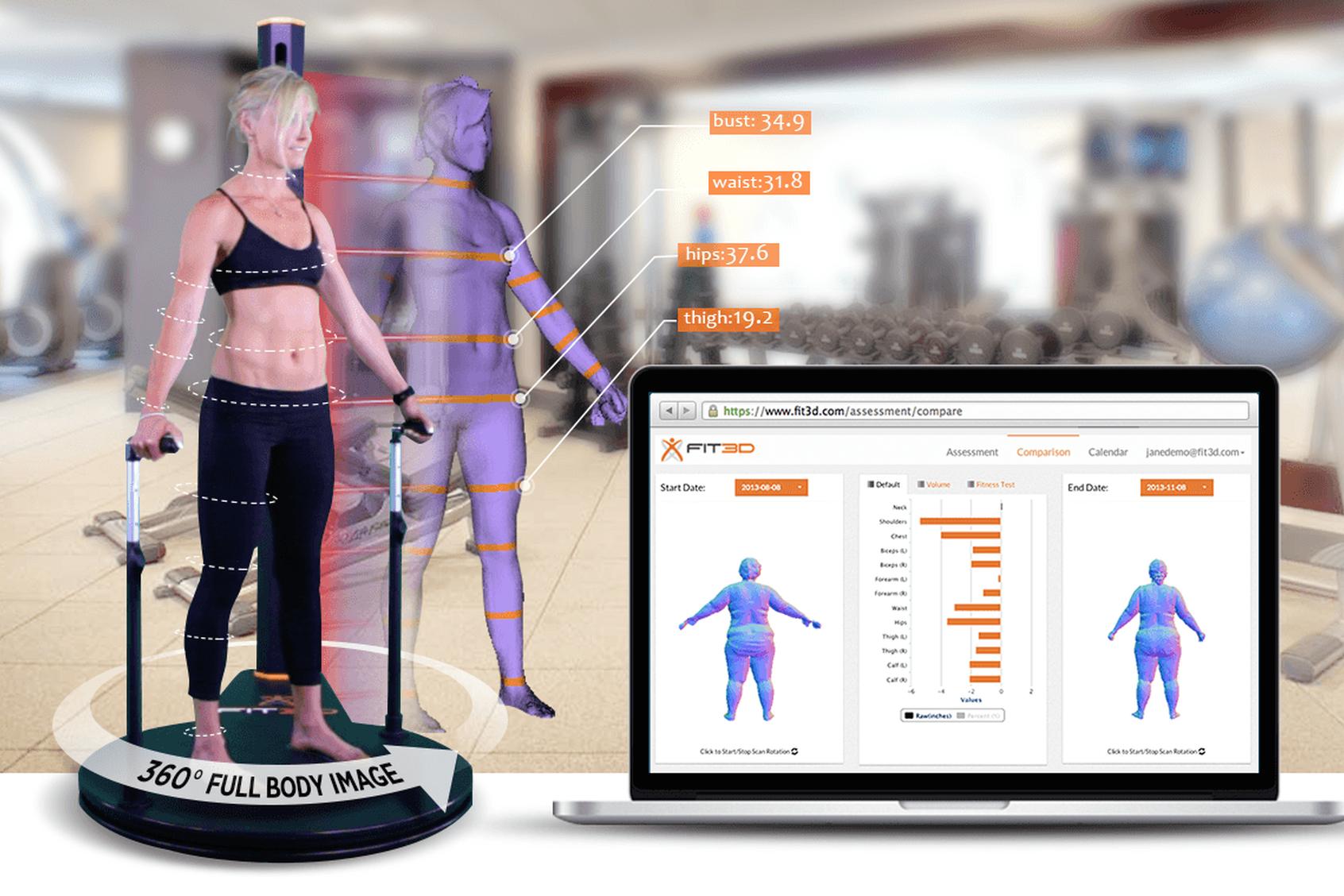 Fit3D ProScanner -