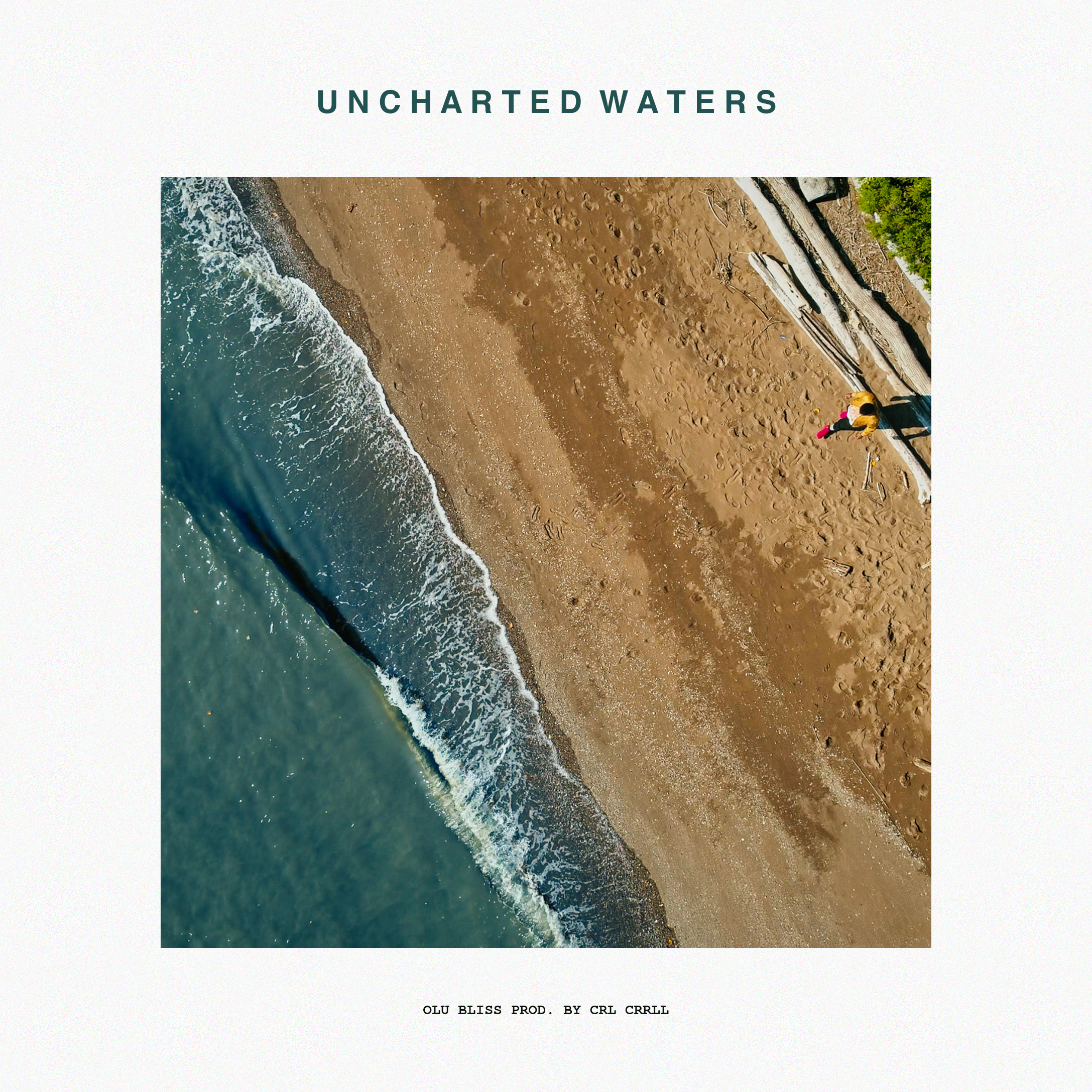 """""""Uncharted Waters"""" a collaboration between  Olu Bliss  and  CRL CRRLL  Available 7.27 on all streaming platforms. Visit OluBliss.com for more music and tour dates...!"""