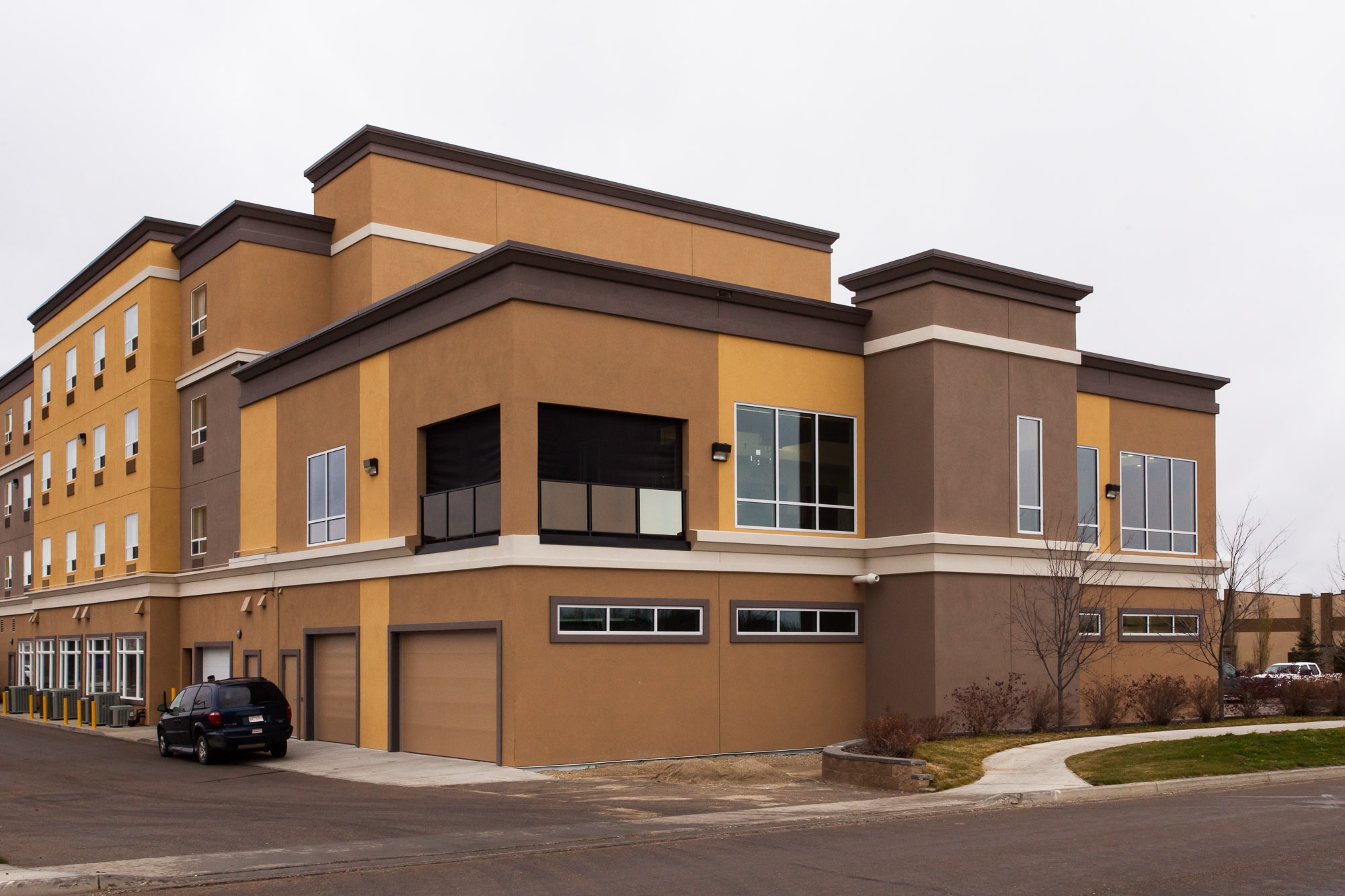 Best Western Hotel  Addition to the Best Western Hotel located in Stony Plain.