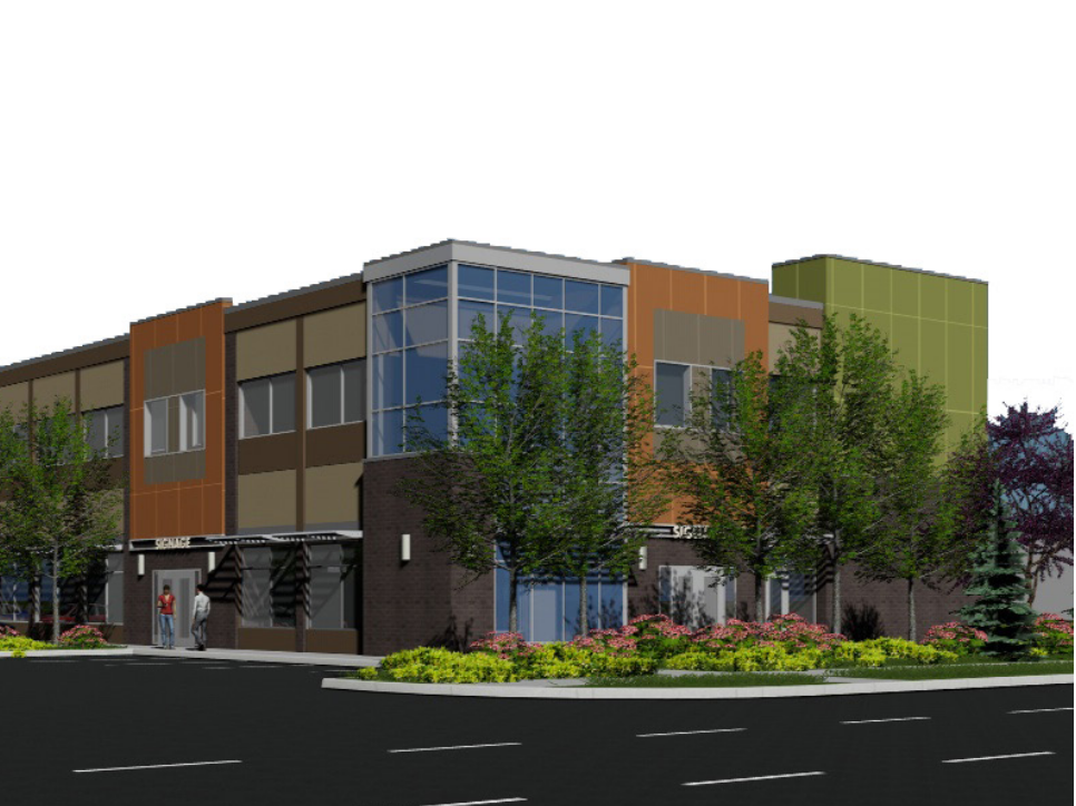 Mr Mikes - Fort McMurray  Located at 8520 Manning Avenue, Fort McMurray AB  A Tenant Improvement to a new CRU building.