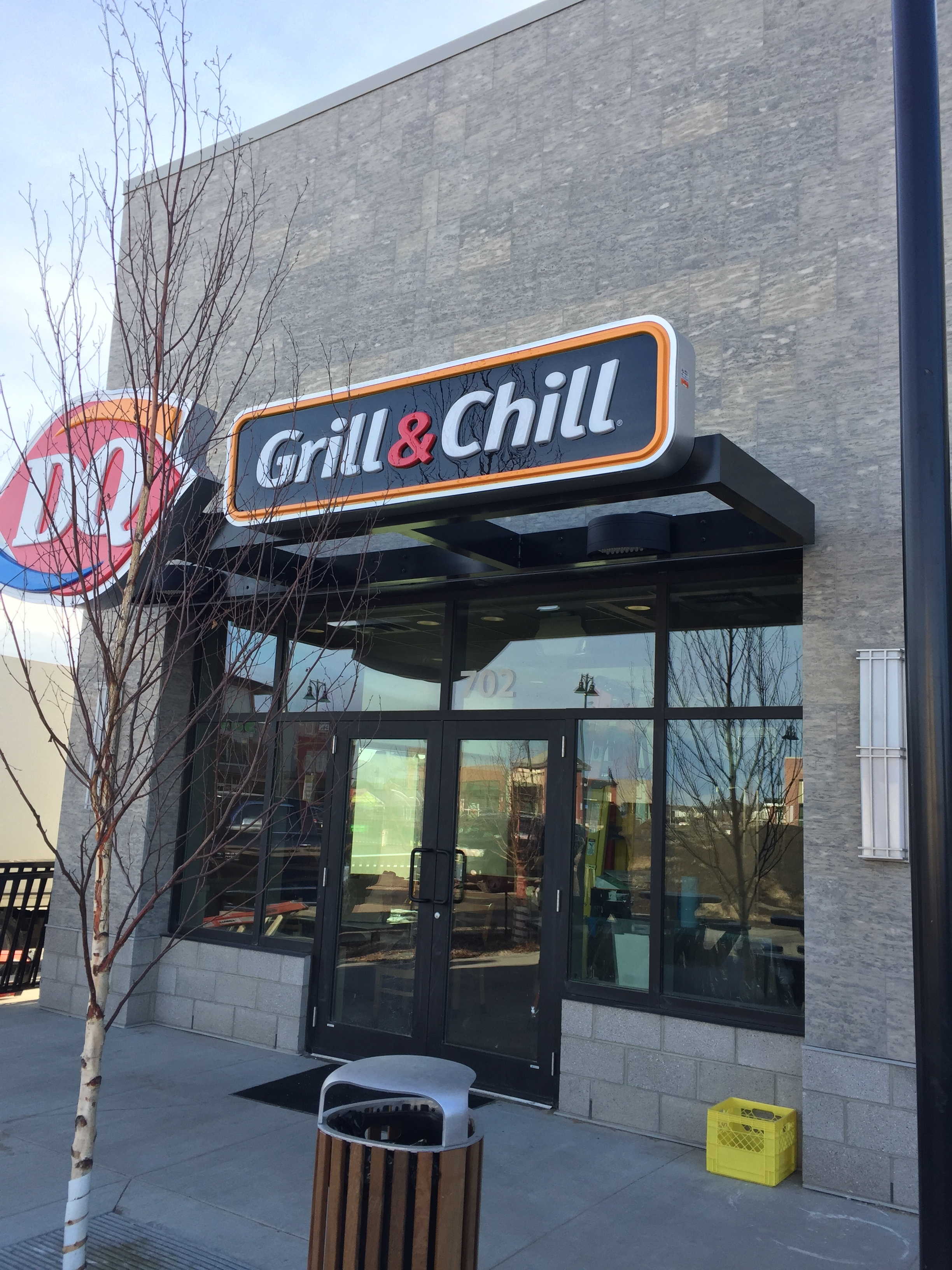Dairy Queen - Airdrie II  Located at 401 Coopers Boulevard, Airdrie AB.  A Tenant Improvement to a new CRU building.
