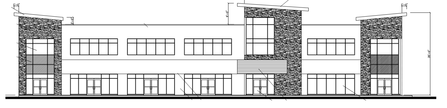 Summit 2 Storey Medical Offices  Located at 4620 - 48 Street, Stony Plain AB.  This project was a two storey professional office base building.