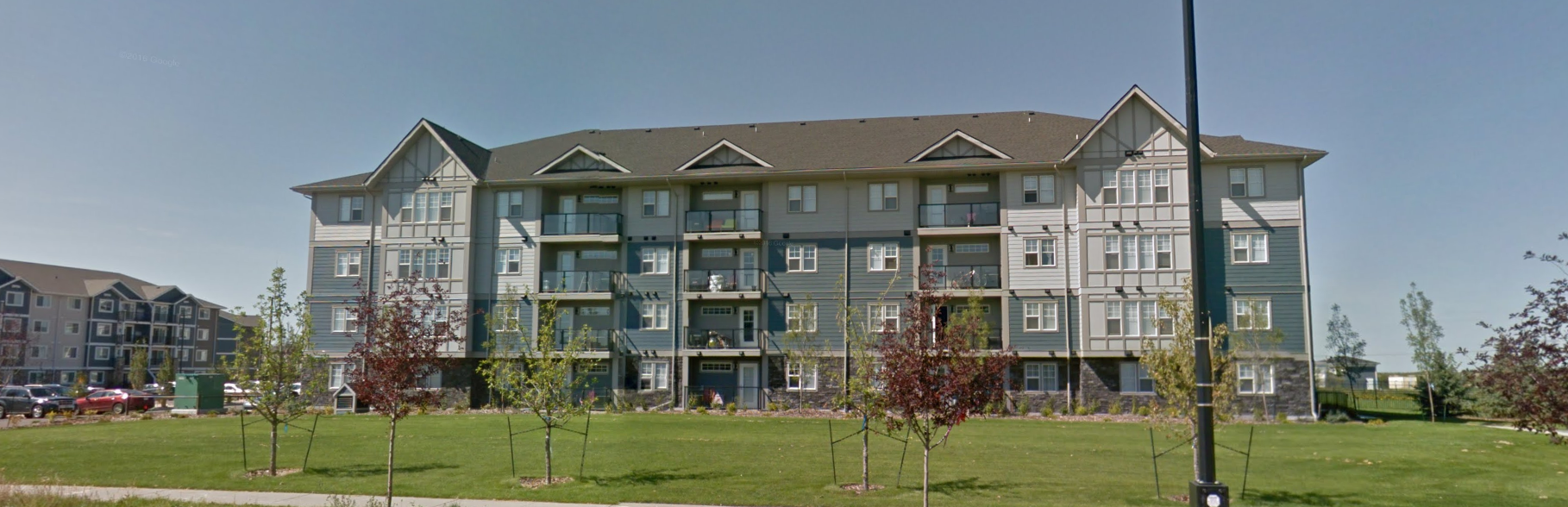 Chappelle Gardens  Located at 2910 141 Street, Edmonton AB.  4 Storeys condo building.
