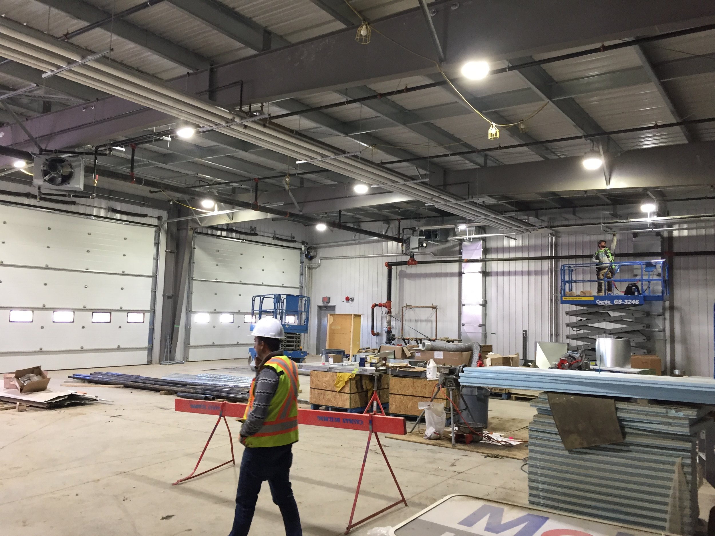 Chinook Fuels  Located at 60 MacKay Crescent, Fort McMurray AB.  A light industrial warehouse.