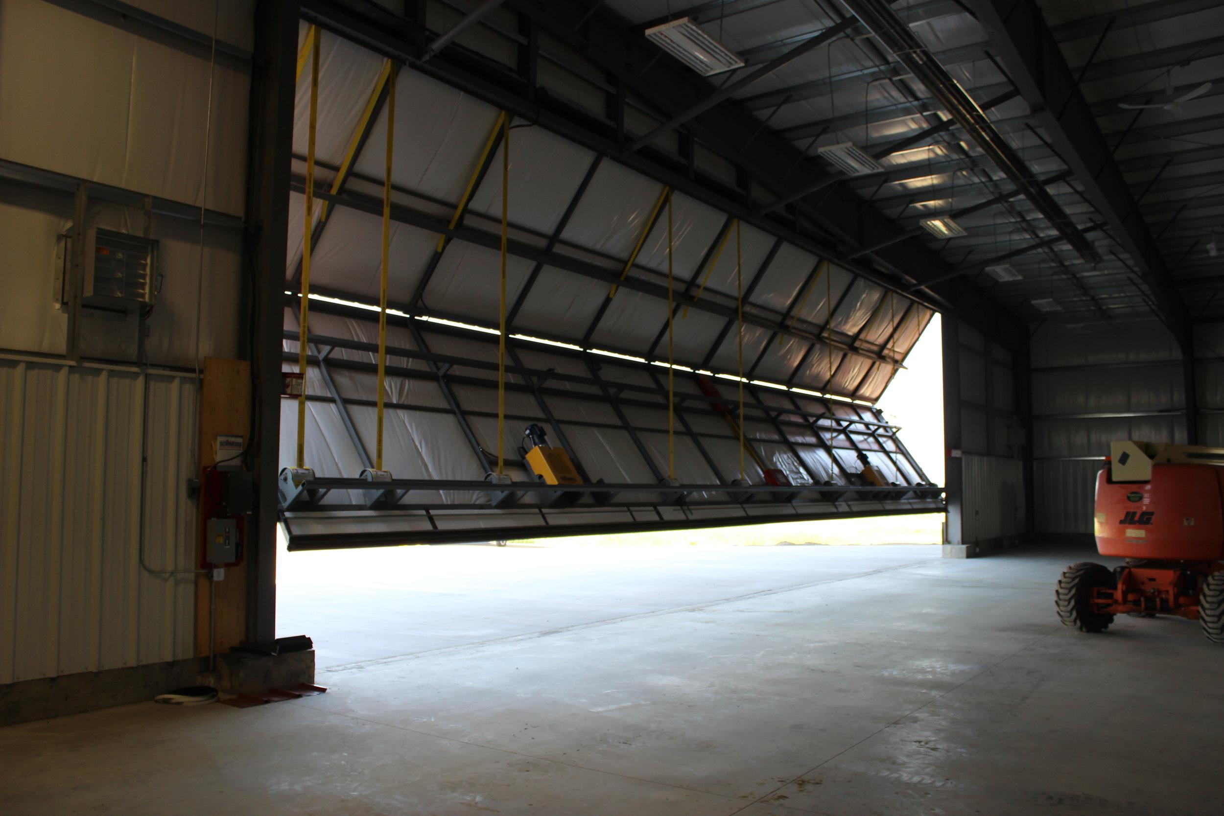 Sarasota Hanger  Located at Villeneuve AB.  An Aricraft Hanger.