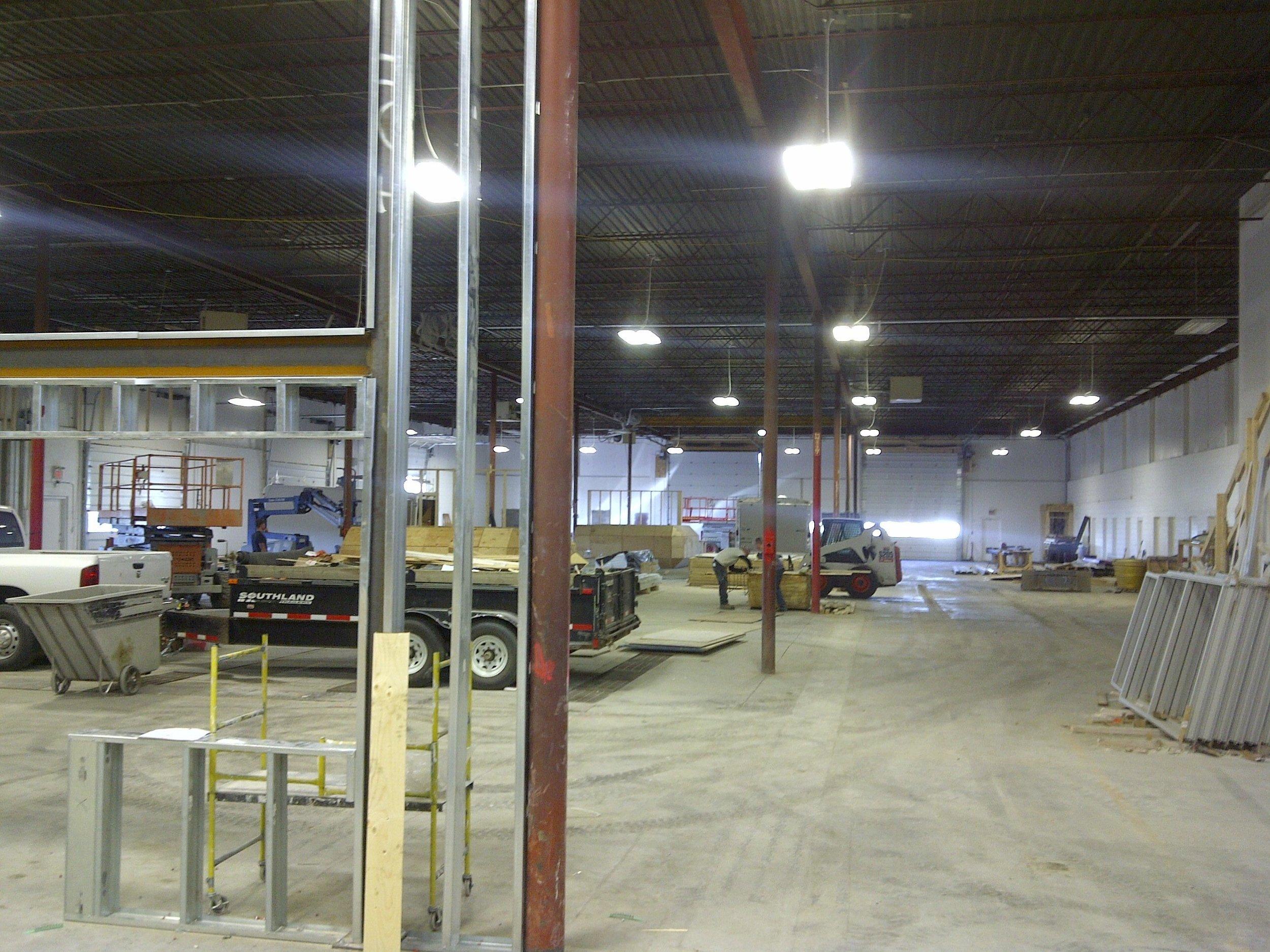 Light Industrial Warehouses