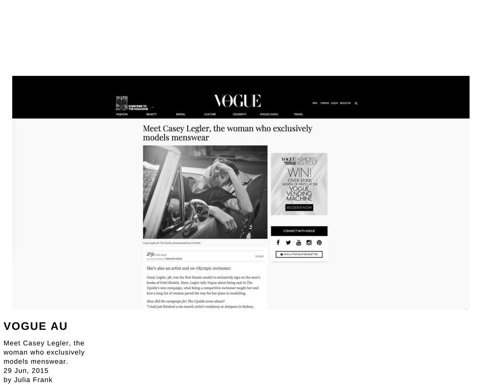 Vogue AU