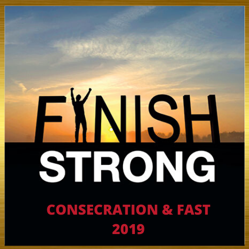"""- This consecration is a """"clarion call to one and all"""" to (1) recall what God stated to them in the beginning of the year, to (2) resist the urge to give up on the rest of this year and (3) refuse to """"give up"""" on Your goal for this, just because you are in this month.""""… the sons of Issachar who had understanding of the times, to know what (they) ought to do…""""-I Chronicles 12:32"""