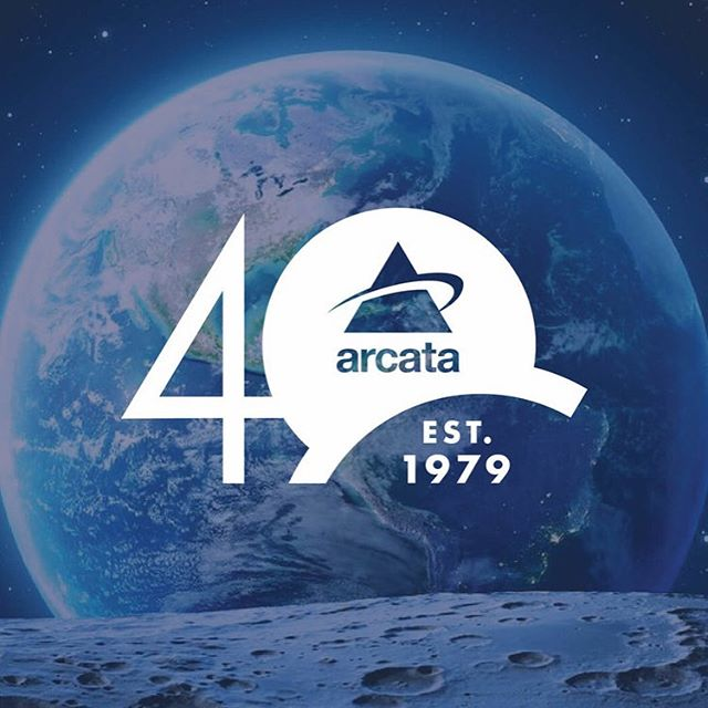 Happy 40th Anniversary to Arcata Associates! Whether they are working with NASA or the Air Force, they've always put people at the center of their work. We are excited to see where the next 40 years take you! 🌔💫✨🚀🛰 And thank you for bringing us on board to design your anniversary identity. . . . #logo #logodesigner #visualidentity #toinfinityandbeyond #graphicdesign #space #flight #jerseycity