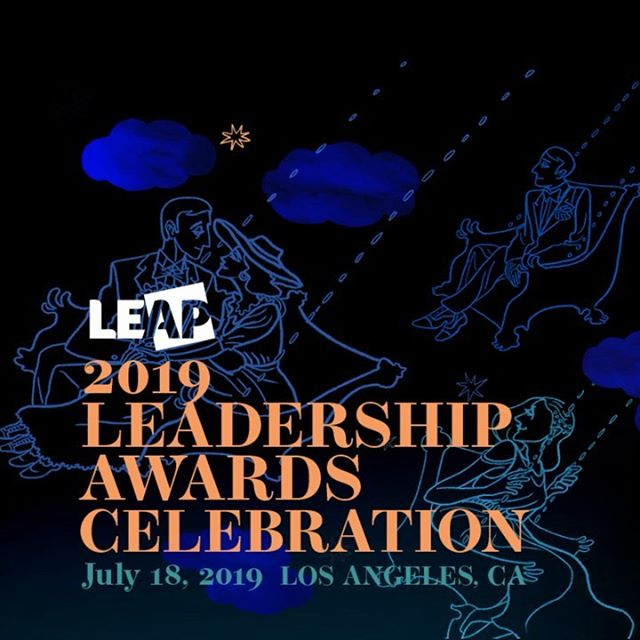 Wishing @leapgrowleaders , today's honorees, and attendees a magical night. Congrats to everyone at the 2019 LEAP Leadership Awards Celebration . . . #eventidentity #logodesign #illustration #graphicdesign #leap #uncaptalent #leapcelebration2019