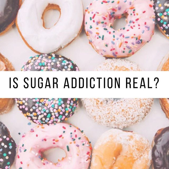 """New blog post up on a hot topic - Sugar Addiction. I've run into this more and more lately - the media portraying it or people saying they are """"addicted"""" to food or sugar and thus must stay away 🙅♀️. If you resonate with that out of control feeling around food or sugar, I get you. I've been there! However, there is no scientific evidence that says food or sugar addiction is real. We also find that when depriving ourselves of certain foods - we are MORE likely to feel addicted or crave them. And that's a neurological response from our bodies!!! Pretty cool.  In the post I also talk about that out of control feeling and how we can navigate it. It's a process - but the end goal is to be able to incorporate ALL foods so that we don't feel deprived and ultimately out of control.  P.S. if you like nerding out on these topics like me - I tagged some awesome RDs/therapists in the field who provide great insights on their blogs/podcasts and were my source of information/inspiration for this post! 🤓"""