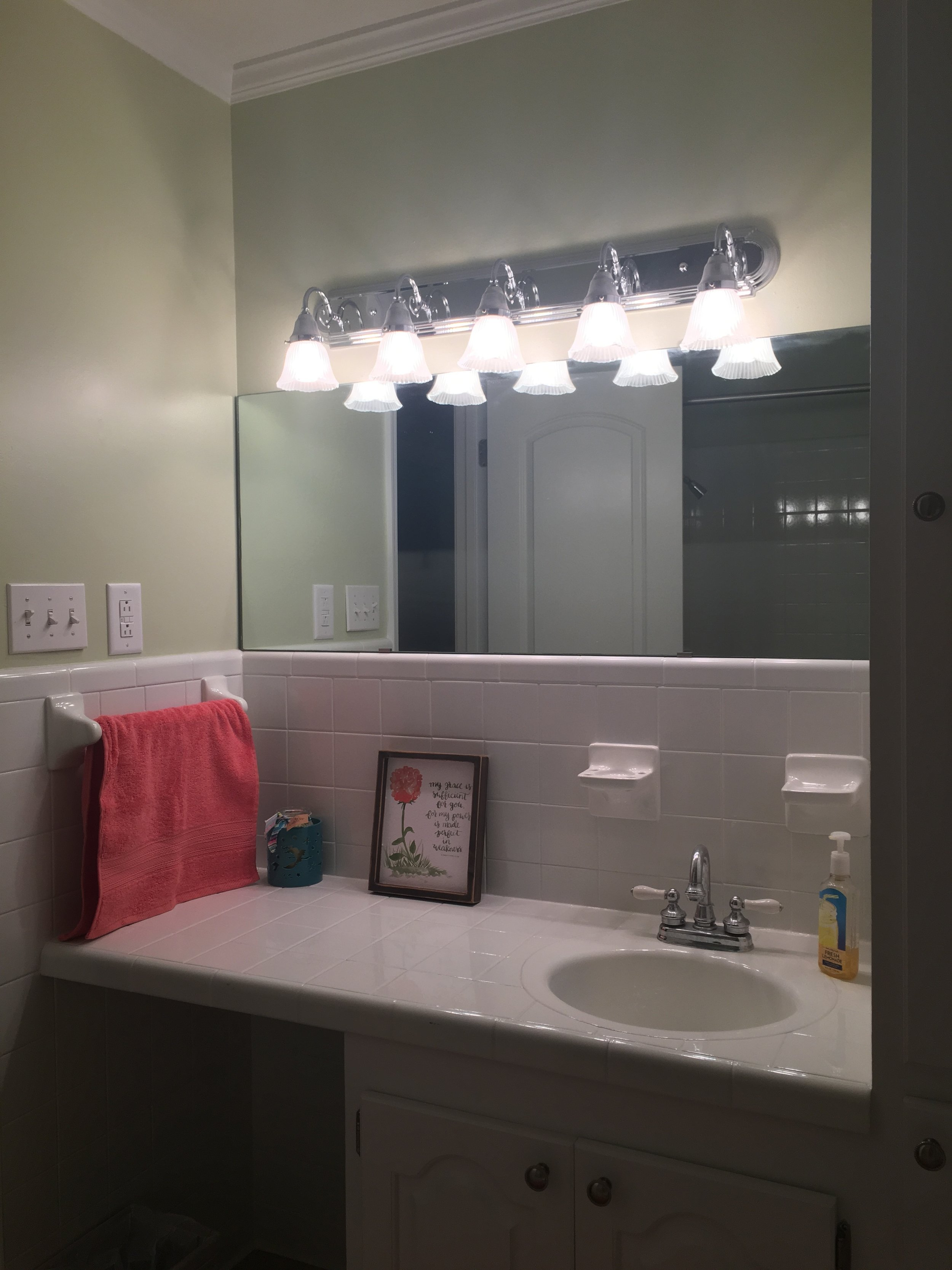 Kaitlyn Smith Bathroom After