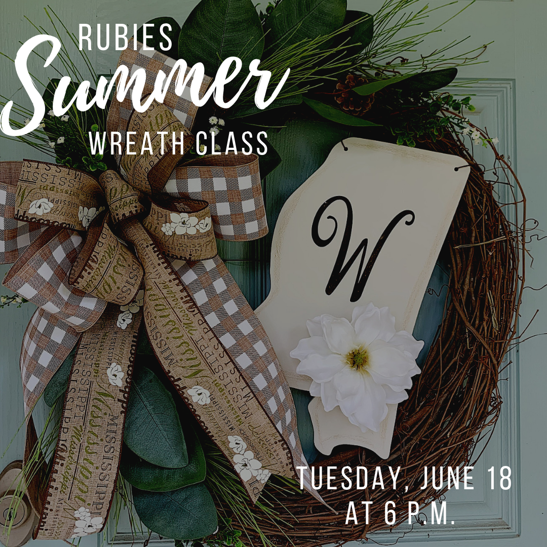 Summer Mississippi Wreath Class