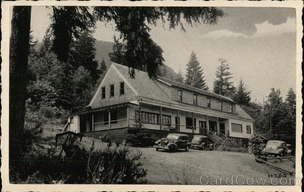 The Olympic Inn, Mr. & Mrs. Henry A. Kyer, Brinnon, Wash.