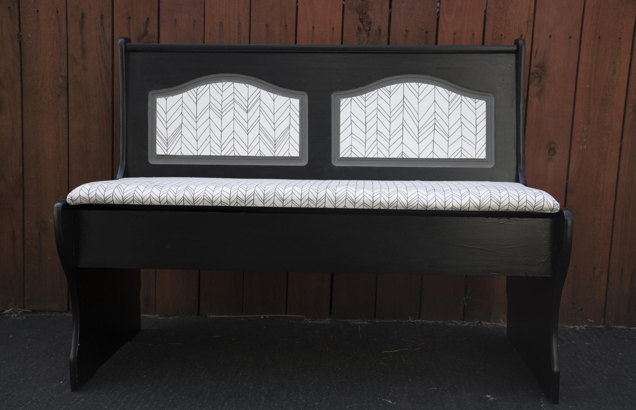 Sammy storage bench