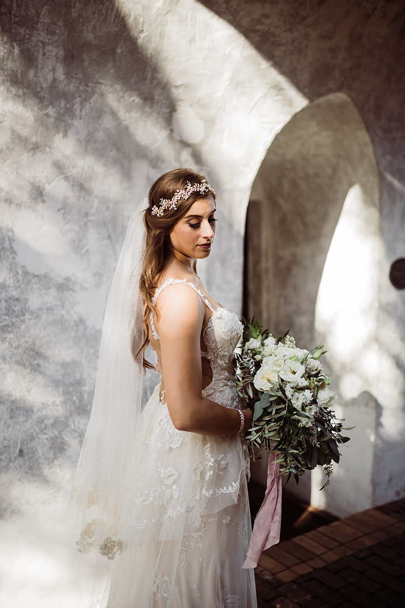 Dreamy Blush + White Wedding at Casa Feliz