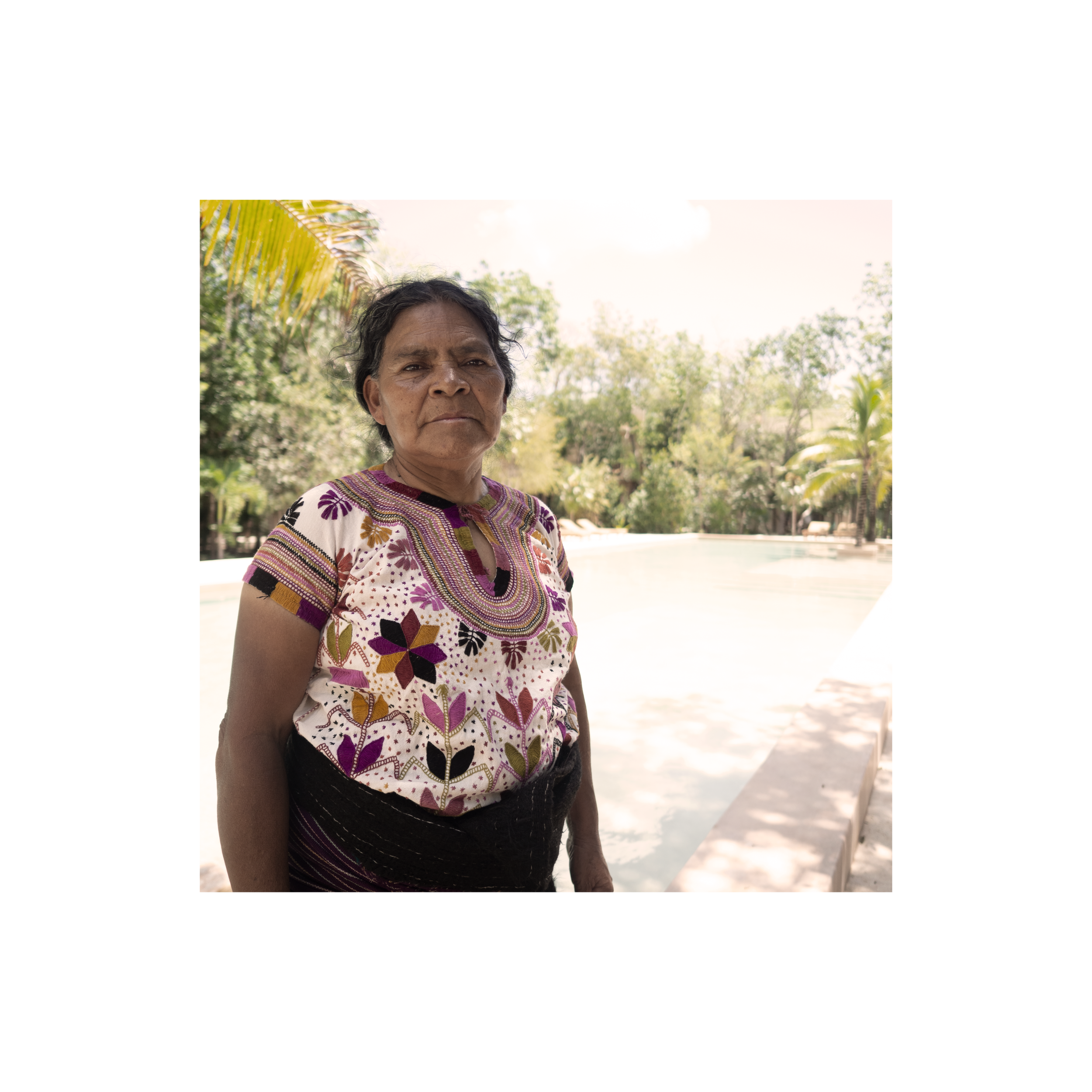 Maruch Mendez  - We all know her as Maruch, she has profound roots that had been nourished by wisdom and ancestral knowledge linked to healing. In her community they call her