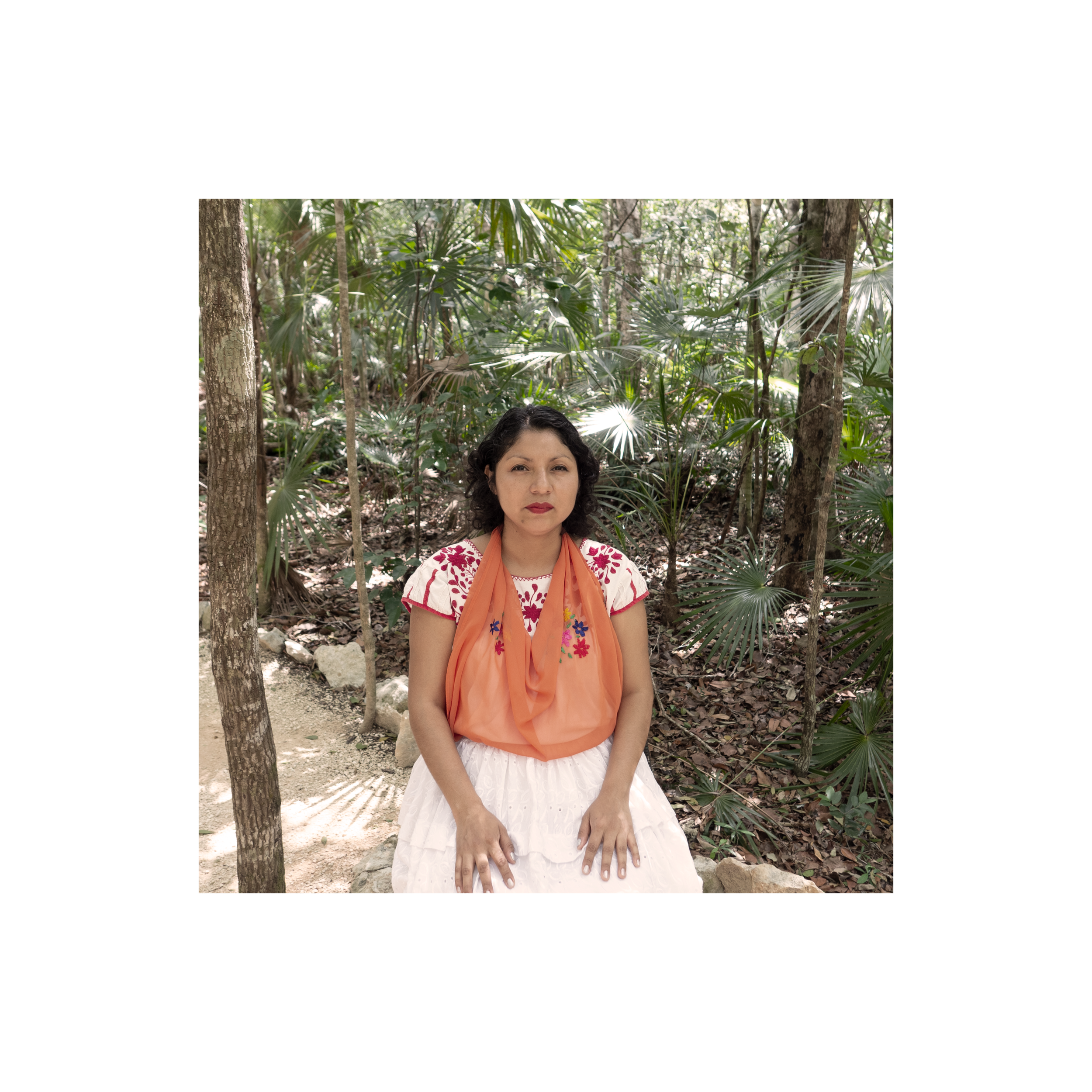 Ana Maria Herrera - Magic beings in sacred spaces, her art shows the colors of the earth and the creative process of a woman, who rescues the oral tradition and knowledge of her people through myths, legends, and customs that are the inheritance of her grandparents as well as the grandparents of the Kantiyan, in Veracruz, turning the stories into images that return us to this universe where everything is possible.