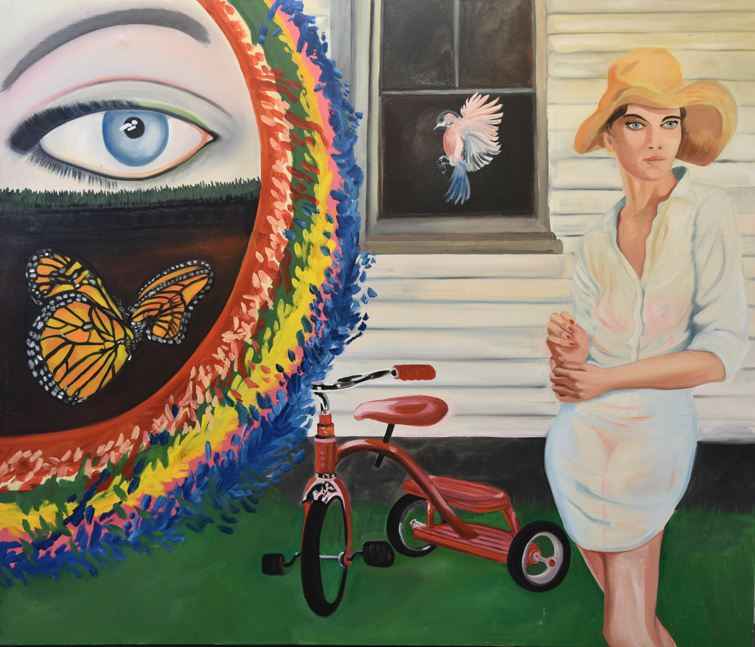 Woman With Tricycle