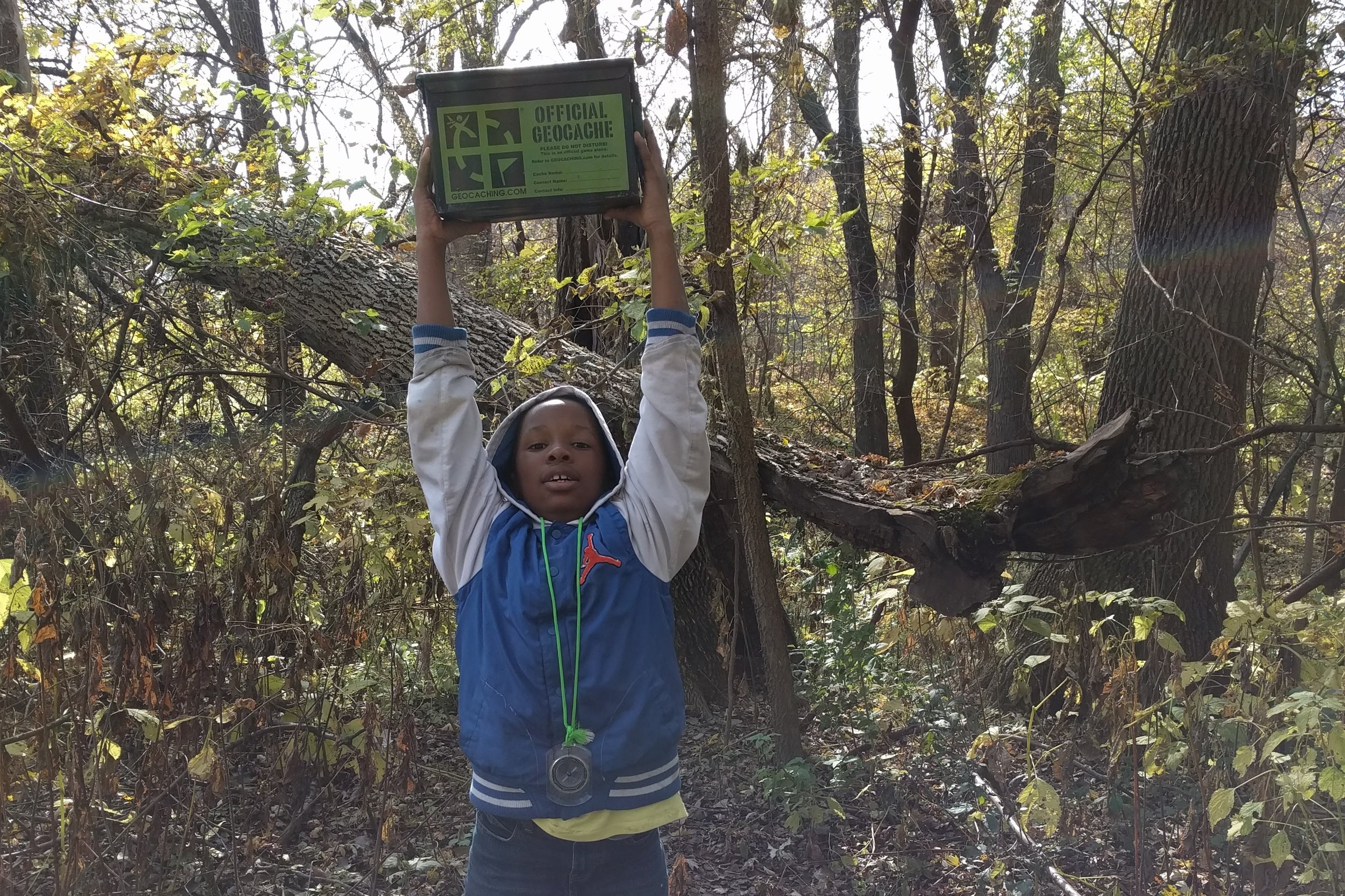 Orienteering Station - Volunteers will teach students how to use a compass, read the guided hike directions to the group, and facilitate navigation to predetermined locations in the park.