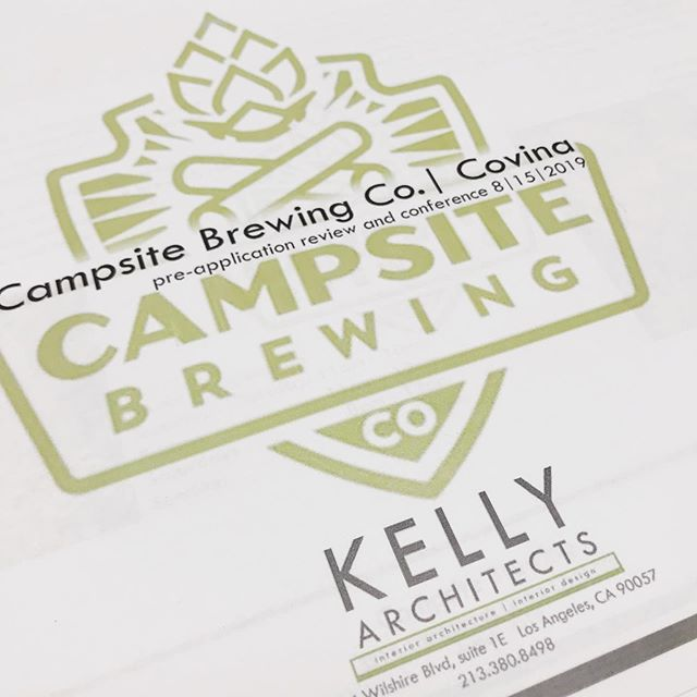 Successful meeting with @kellyarchitects and the City of Covina Community Development Department. We are making great progress! . . . . .  #campsitebrewingco #camping #covina #craftbeer #brewery #beergeek #drinklocal #claremont #CAbeer #campsite #brewpub #hops #beer #adventure #hike #outdoors #tent #explore #independentbeer #socal