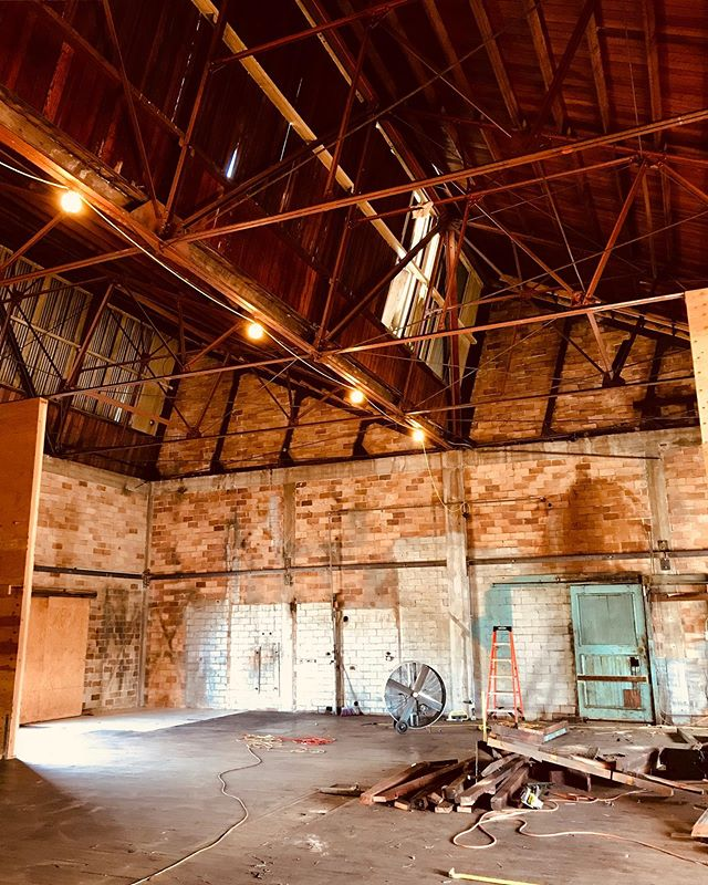Isn't this building beautiful! Most of the Mezzanine has been removed giving us a great view of our high ceilings. . . . #campsitebrewingco #camping #covina #claremont #glendora #craftbeer #brewery #drinklocal  #CAbeer #campsite #brewpub #hops #beer #adventure #hike #outdoors #tent #explore #independentbeer #socal