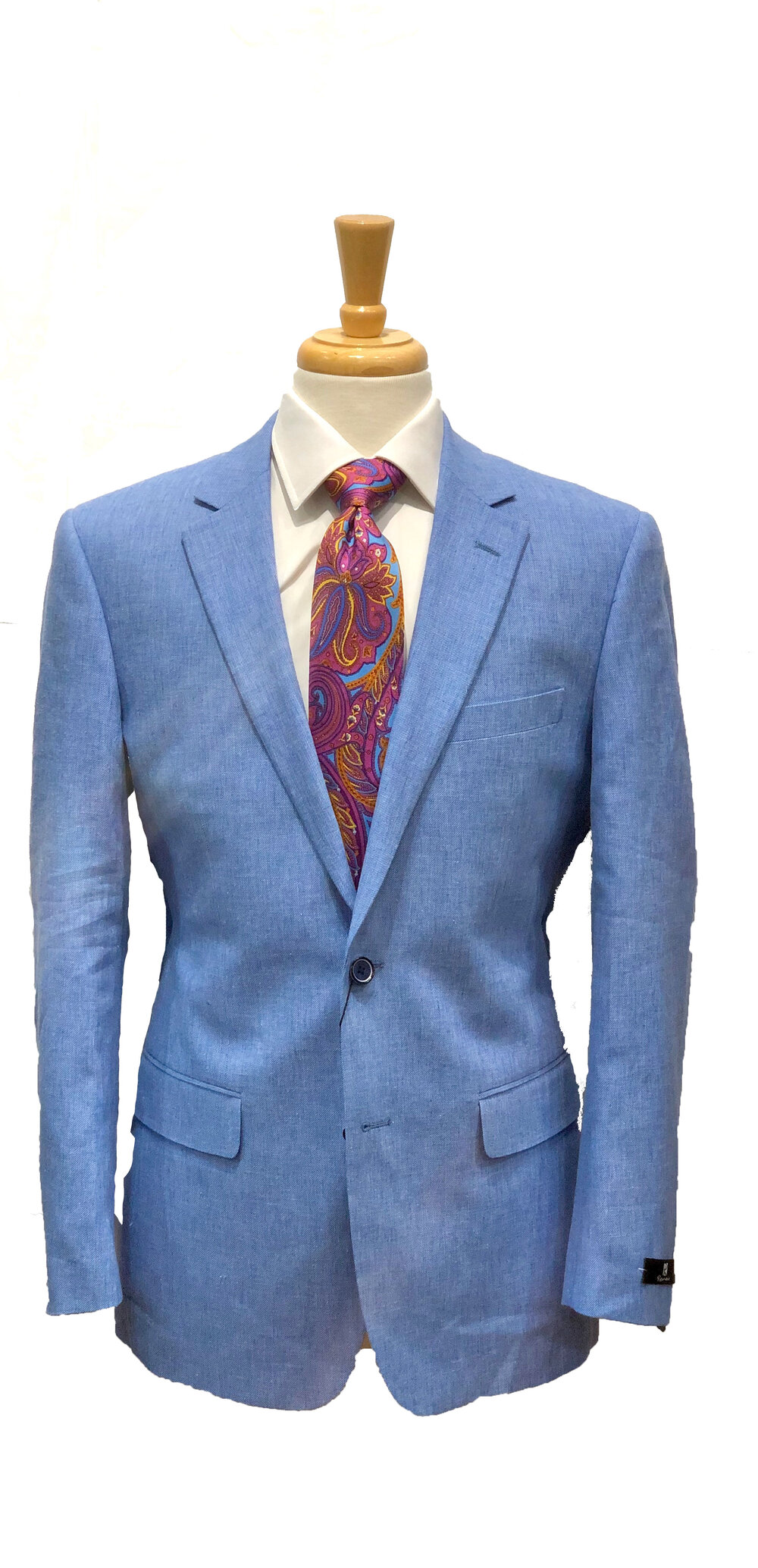 Produttivo Tagliare rapporto  Joseph's Clothier — Renoir Light Blue Linen Blazer