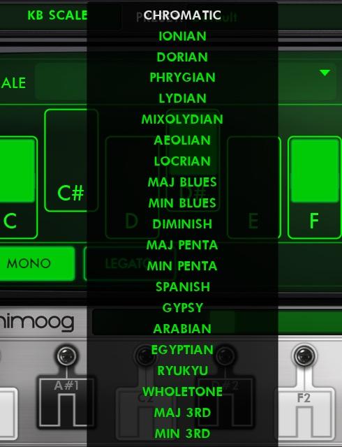 The Animoog - a synth app by Moog.