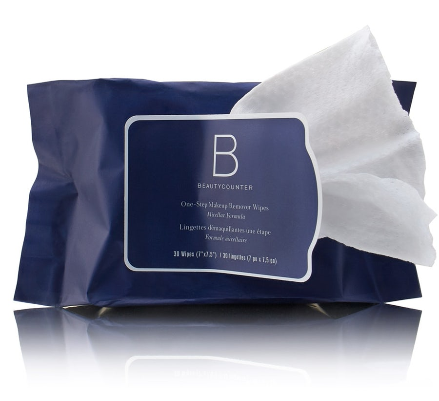 One-Step Makeup Remover Wipes   https://www.beautycounter.com/product/one-step-makeup-remover