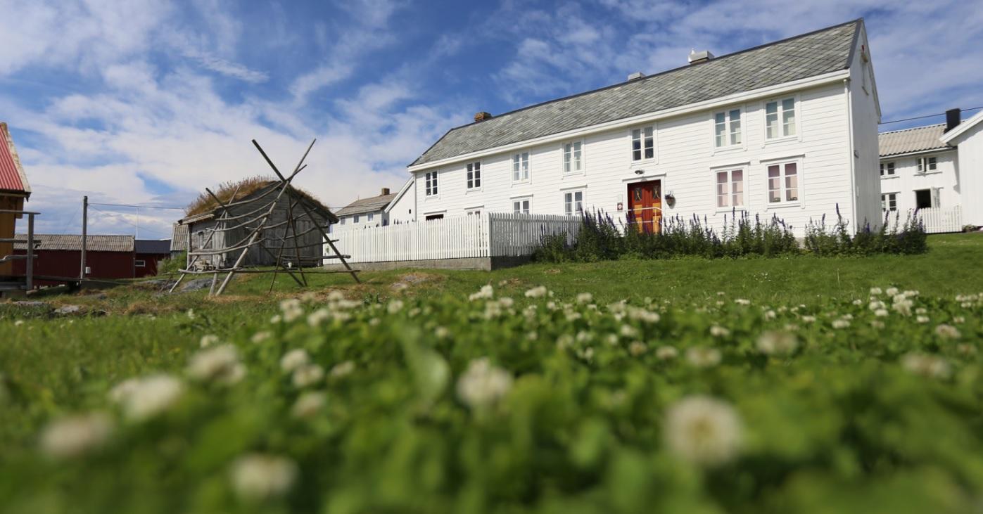Sanden museum. Foto : Kjell Jøran Hansen