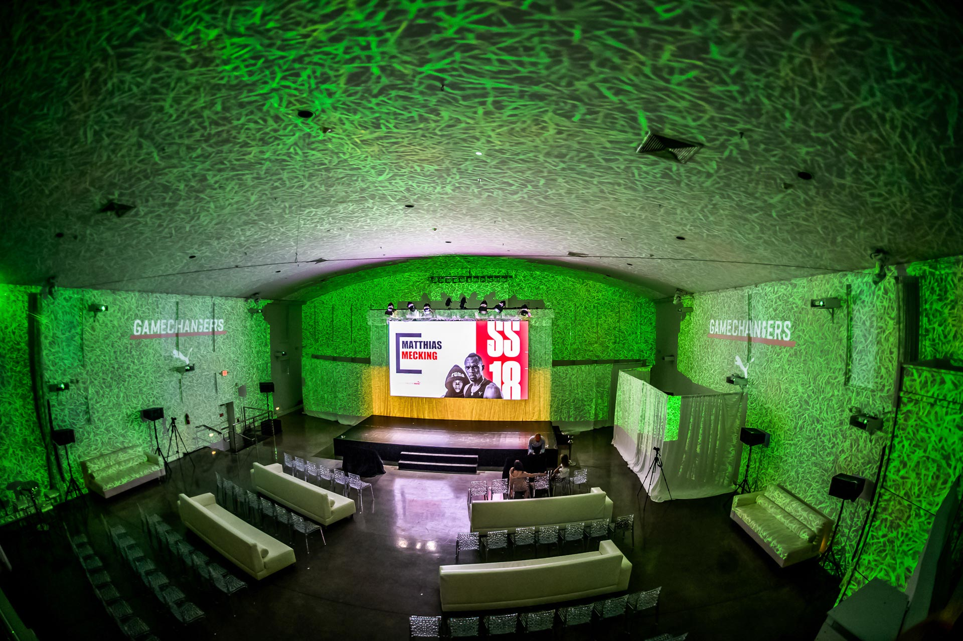 High end conference venue