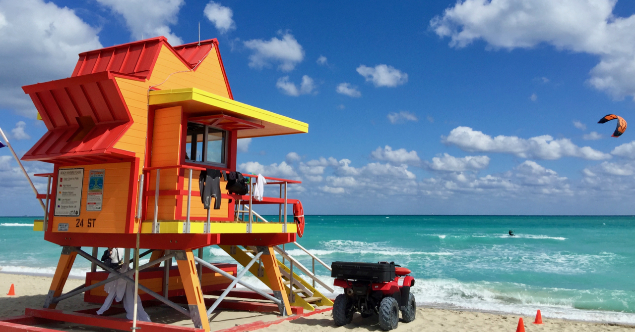 Beautiful Miami Beach - Lifeguard Station.jpg