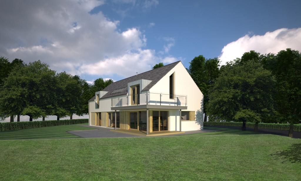 Design rendered image - Passive House (Passivhaus) Crawfordsburn