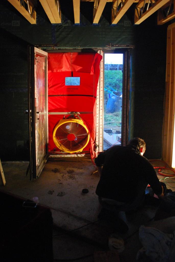 Door blower test