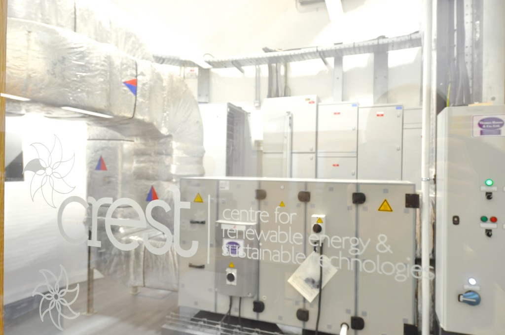 Plant room ventilation unit