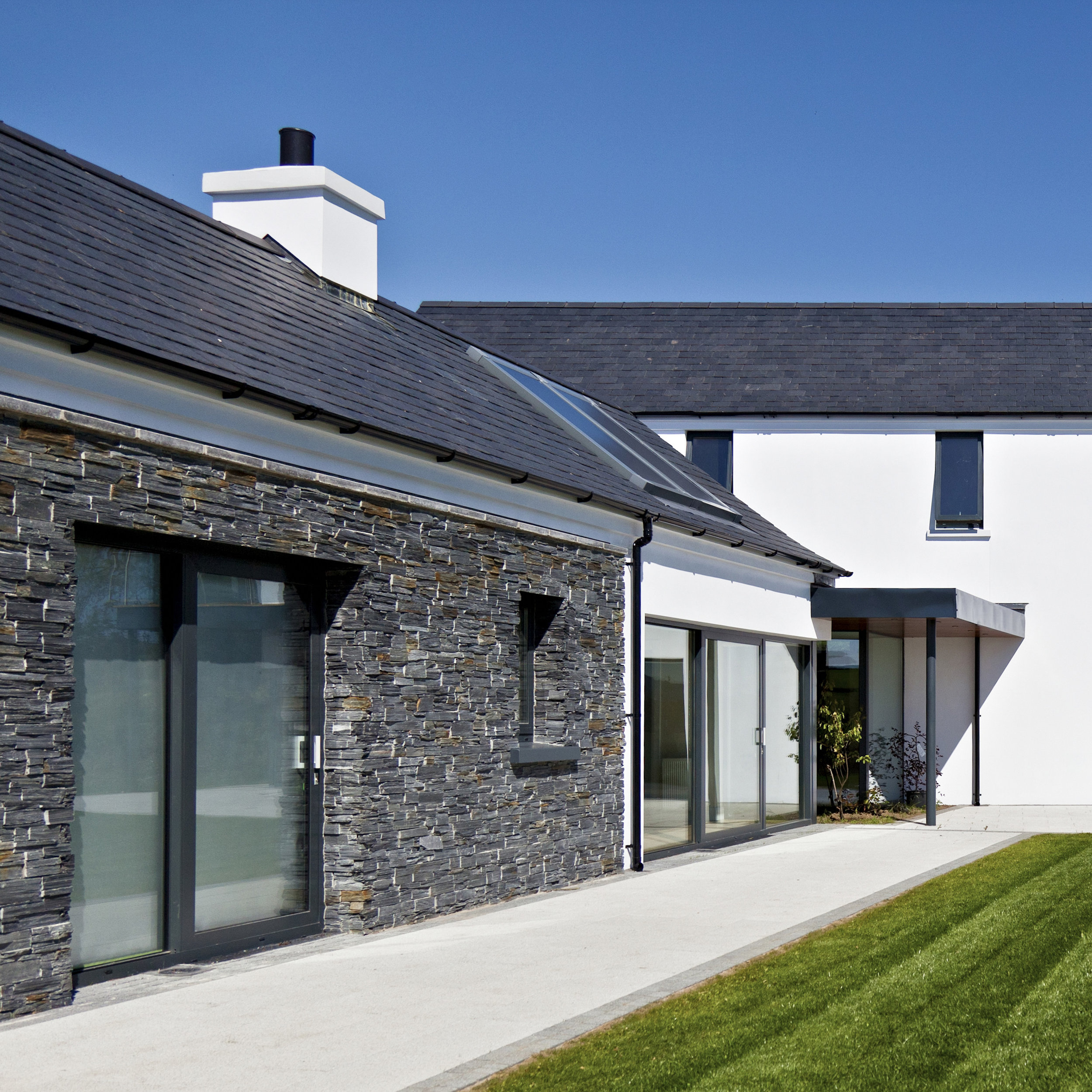 Drumlins Eco House, Co. Down  Low Energy House - B rated for energy efficiency