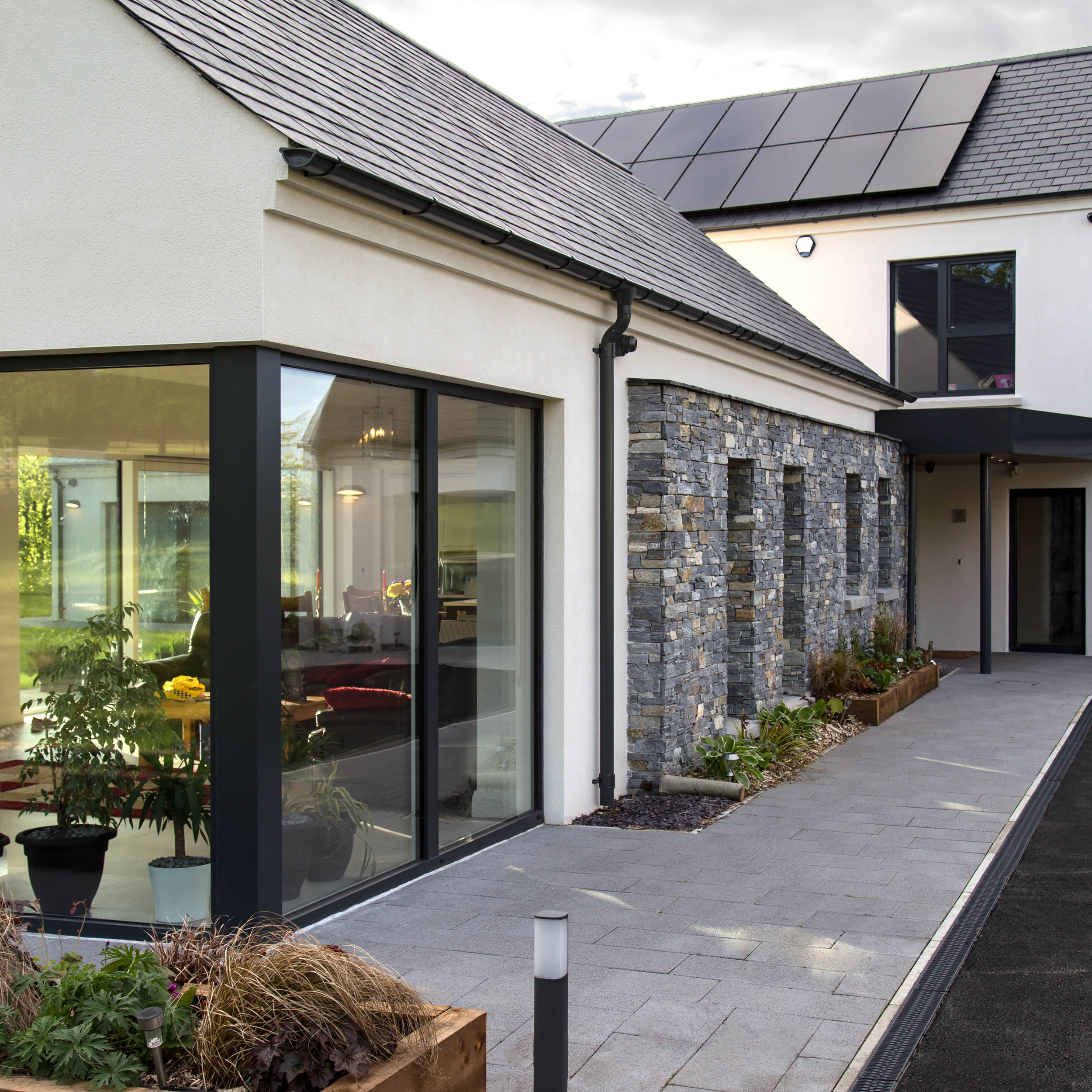 SummerIsland House, Co. Armagh  Certified Passive House - A rated for energy efficiency